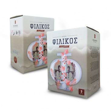 Filikos Merlot Red Dry 3 & 5 Liters
