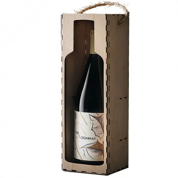 Magnum Chardonnay Oak White Dry wooden case