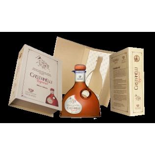 Castanelli liqueur 24°vol 200ml book style case