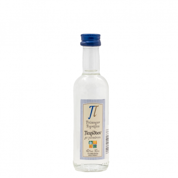 Peirithoon tsipouro of Tirnavos with anise 42%vol package of 24Χ50ml