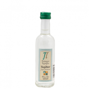 Peirithoon tsipouro of Tirnavos 40%vol package 0f 24Χ50ml