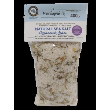 Mitilinia Gi Sea Salt with Rosemary & Orange 400gr