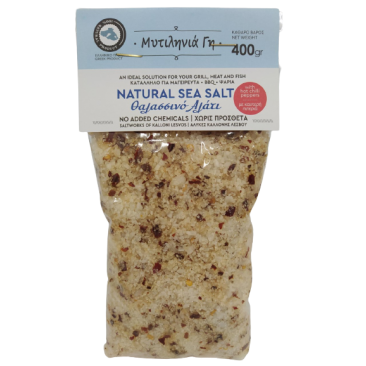 Mitilinia Gi Sea Salt with Hot Chilli Pappers 400gr